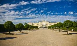 Rundale palace. Was built in 1740. Architect: Francesco Bartolomeo Rastrelli Stock Image