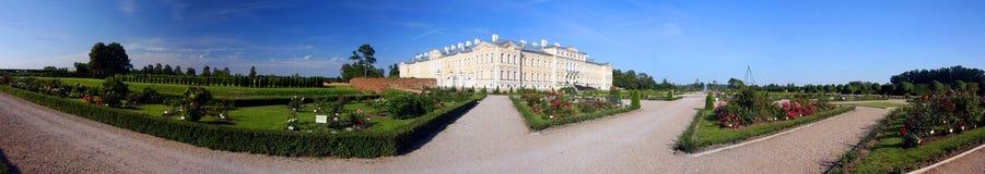 Rundale palace Royalty Free Stock Photos
