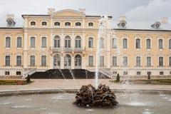Rundale-Palast Bauska, Lettland, Europa Stockfotografie