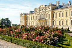 Rundale Palast in Lettland stockfoto