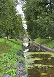 Rundale Pils, august 24 2014-Park Rundale pałac od Bauska w Latvia Fotografia Stock