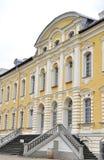Rundale Pils,Latvia-august 24:Rundale Palace entrance from Bauska in Latvia Royalty Free Stock Photos