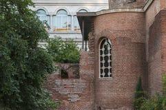 Rundbau-Detail Sveti Georgi oder St George in Sofia, Bulgarien Lizenzfreies Stockfoto