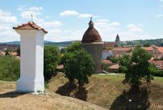 Rundbau im Skalica, Slowakei lizenzfreie stockbilder