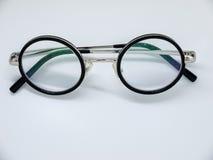 Runde eingefaßte Gläser Stockfotografie