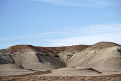 Runde Felsformationen im Mojave lizenzfreies stockbild