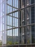 Runde Glaswand Lizenzfreie Stockfotografie