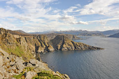 Runde, Norway. Royalty Free Stock Images