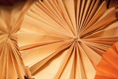 Runde Papierbeschaffenheit stockfoto