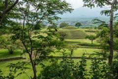 Runde Pyramiden Guachimontones Lizenzfreie Stockbilder