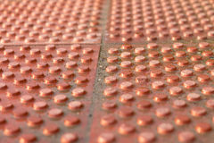 Runde Ränder von Ziegelsteinen Lizenzfreies Stockbild