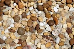 Runde Steine Stockbild