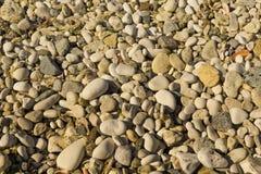 Runde Steine Stockfotografie