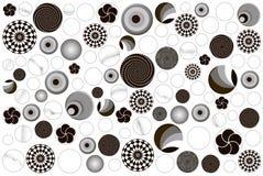 Runde von Fliesen Ball Stockbilder