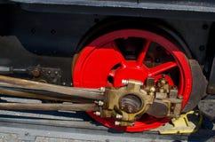 Runde von Lokomotiven Stockfotos