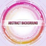 Runder abstrakter Hintergrund vektor abbildung
