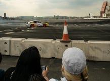 Runder britischer Antrieb 1-London GP Lizenzfreie Stockfotos