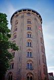 Runder Kontrollturm in Kopenhagen Lizenzfreies Stockbild