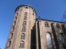 Runder Kontrollturm von Kopenhagen Lizenzfreie Stockbilder