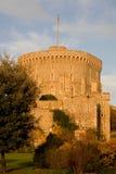 Runder Kontrollturm am Windsor Schloss Stockfotografie