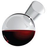 Runder Krug Wein lizenzfreie abbildung