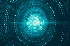 Runder Wormhole Zusammenfassungs-moderner Digital ungefähr zum Explodieren von Grafik-Hintergrund vektor abbildung