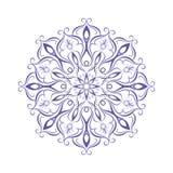Rundes Blumenmuster lizenzfreie abbildung