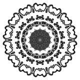 Rundes Element für Malbuch Stockbild