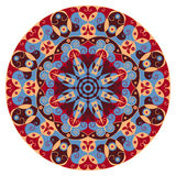Rundes ethnisches Muster Stockbilder