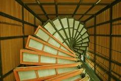 Rundes Treppenhaus Lizenzfreies Stockbild