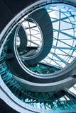 Rundes Treppenhaus Lizenzfreie Stockbilder