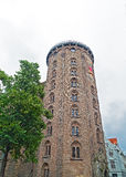 Rundetaarn (Round Tower) in central Copenhagen, Denmark Royalty Free Stock Photo