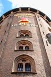 Rundetaarn, of Rundetårn om Toren, zijn een 17de eeuw t Royalty-vrije Stock Foto's