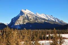rundle горы banff Стоковые Изображения RF