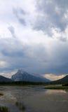 Rundle и облака стоковое изображение