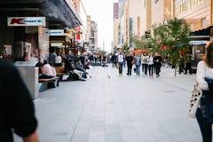 Rundle-Mall, Adelaide, Australien Lizenzfreies Stockbild
