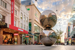 Rundle-Mall-Bälle, Adelaide-Stadt Stockfoto