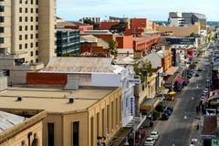 Rundle-Straße in Adelaide CBD Lizenzfreie Stockbilder