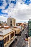 Rundle-Straße in Adelaide CBD Stockbilder
