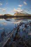 Rundle Sunset Stock Images