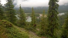 Rundlestone-Berg Banff Stockbild
