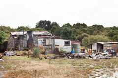 Free Rundown And Ramshackle Home Royalty Free Stock Image - 78706676
