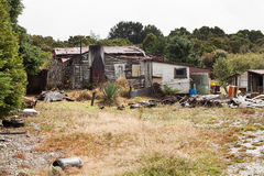 Free Rundown And Ramshackle Home Royalty Free Stock Image - 78708216