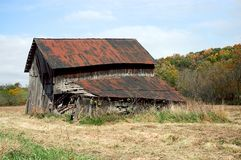 Rundown Barn Stock Photography