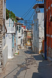 Rundown houses in Turkish village Stock Image