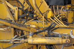 Rundown machine detail Royalty Free Stock Photography