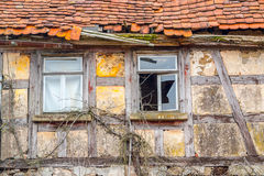 Rundown old farmhouse Royalty Free Stock Images