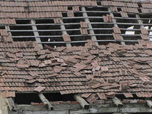 Rundown Roof Royalty Free Stock Images