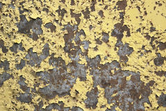 Rundown varnished surface Stock Images