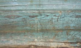 Rundown wooden planks Stock Images